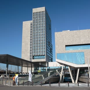 Virginie Lovelinggebouw in Gent