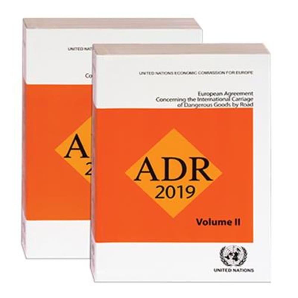 Foto van handboeken over regelgeving ADR