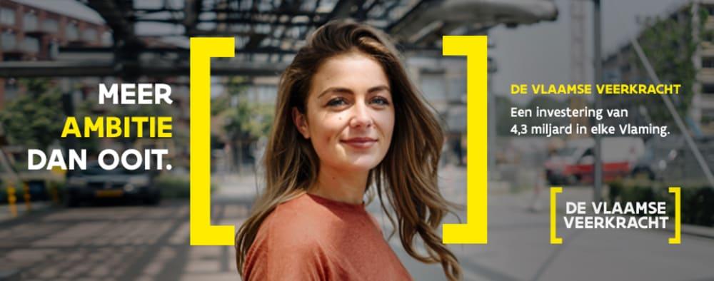Meer ambitie dan ooit. De Vlaams Veerkracht. Een investering van 4,3 miljard in elke Vlaming.
