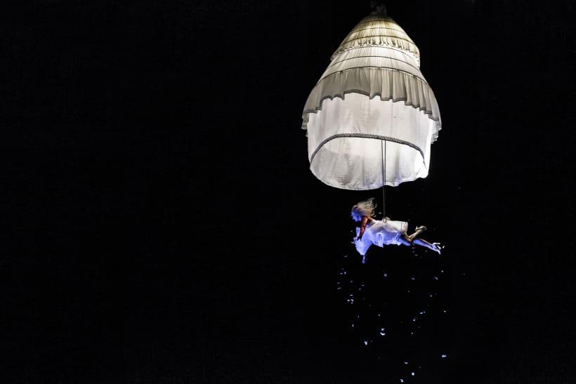 Acrobatisch lichtspektakel