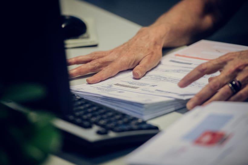 Bundel aanslagbiljetten Vlaamse Belastingdienst
