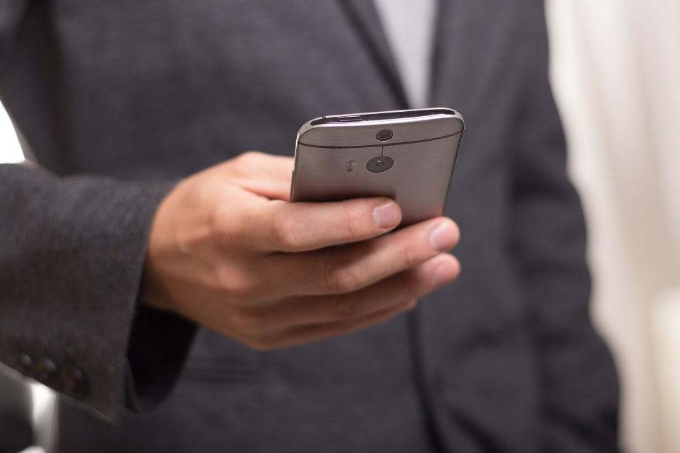 SMS ontvangen